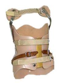 חגורת גב מחוך בוסטון עם מנופים לטיפול בקיפוזיס קטלוג מוצרים